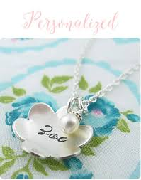 Baby Personalized Jewelry Personalized New Baby And Infant Jewelry Gifts For Girls By Little