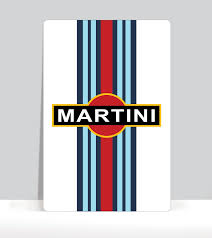 martini logo car decals posters window decals flags t shirts the air factorcar