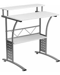 Steel Frame Desk Get The Deal Compact Steel Computer Desk Home Office Desktop
