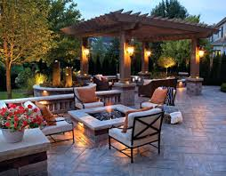 patio ideas backyard patio designs with fire pit backyard