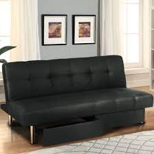 Walmart Leather Sofa Bed Furniture Futon Beds At Walmart Mainstays Futon Black Leather
