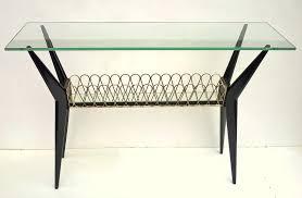 Table Verre Design Italien by Table Basse Italienne Avec Plateau En Verre 1950 Design Market
