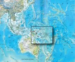 Map Of Pacific Ocean Sealift Stockham Aids Storm Ravaged Pacific Islanders