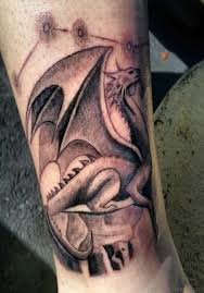 83 great dragon tattoos on leg