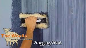 Bedroom Wall Finishes Dragging Strie How To Faux Finish Painting By The Woolie How To