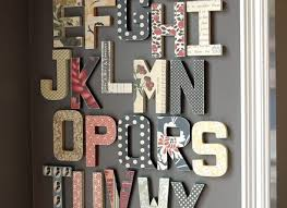 Home Decor Letters Of Alphabet 30 Letters Wall Alphabet Print Letter Poster Nursery Wall