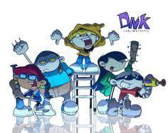 codename kids door 17 cartoon characters drawn adults