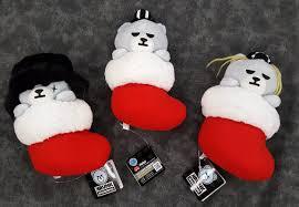 2015 bigbang x krunk mascot bears christmas stocking version
