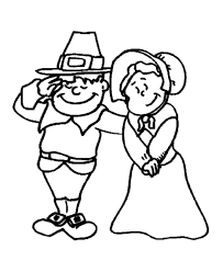 thanksgiving day coloring pages free thanksgiving day coloring page sheets pilgrim man and woman