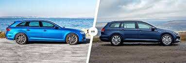 audi a4 avant vs vw passat estate comparison carwow