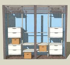 Home Design Using Google Sketchup by Closet Option 1 Google Sketchup Closet Designs And Boutique Decor