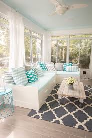 fabulous l shaped window seating with drawers and quatrefoil rug Quatrefoil Table L