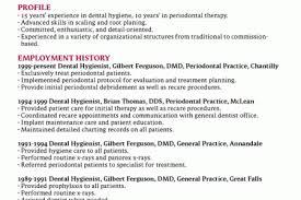 Dental Hygienist Resume Samples by Registered Dental Hygienist Resume Sample Reentrycorps
