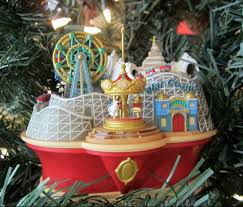 tree ornaments theme park related theme park review