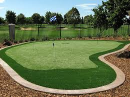 Backyard Putting Green Installation by Fake Grass Vista Santa Rosa California Putting Green Carpet