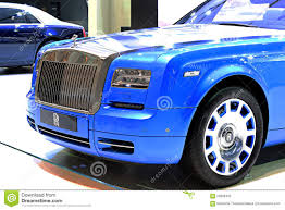 roll royce thailand blue rolls royce luxury car editorial photography image 59669432