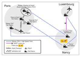 Tgv Map France by How To Get To Nancy Erasmus Mundus Master Perccom