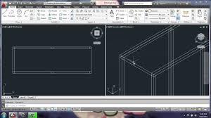 autocad for kitchen design autocad 2013 3d modeling basics adjustable cabinet part 1