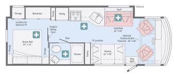 Winnebago Class C Motorhomes Floor Plans by New Or Used Class A Motorhomes For Sale Rvs Near Statesville