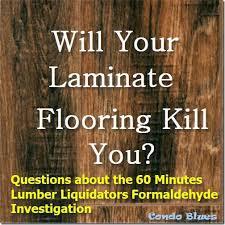condo blues can your laminate flooring kill you