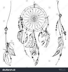 royalty free set of ornaments feathers and 322151501