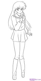 40 best inuyasha coloring pages images on pinterest inuyasha