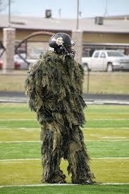 Sniper Halloween Costume Golden Demon Football Halloween Costume Practice