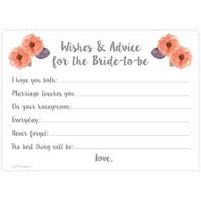 wedding advice cards wishes and advice for the to be cards and hill