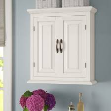 wall hanging bathroom cabinets alcott hill prater 22 5 w x 25 h wall mounted cabinet reviews