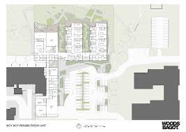 Health Center Floor Plan by Gallery Of Woy Woy Rehabilitation Unit Woods Bagot 10 Site Plans