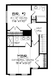 2 bedroom cabin floor plans cottage house plan tiny house