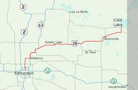 Fort Mcmurray Alberta Canada Map by Alberta Highway 28 Wikipedia