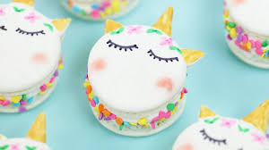 unicorn macarons nerdy nummies youtube