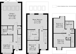 Terraced House Floor Plan by The Fire Station A Development Of New Homes In Winchester