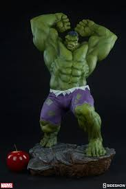 incredible hulk joins sideshow u0027s avengers assemble collectible