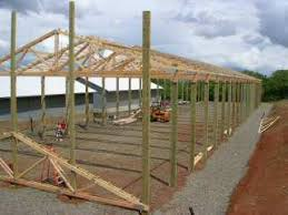 How To Build A Pole Shed Plans by Pole Building Natural Building Blog
