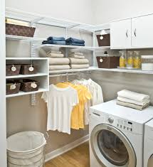 Laundry Room Storage Systems by How To Create An Organized Laundry Room Organized Living