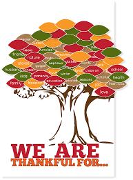 thankgiving tree free printable company
