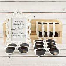 personalized sunglasses wedding favors wedding favors personalized sunglasses a wedding cake