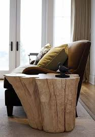 Tree Stump Nightstand Decorating Home Interior With Trees For Unique Furniture And More