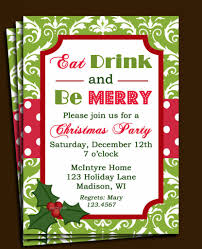 christmas party invitations email templates free 16 for your