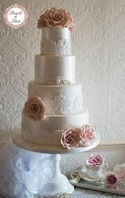 lace wedding cakes wedding cakes lustre lace wedding cake 1976869 weddbook