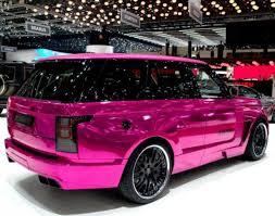 land rover pink range rover u201cmystère u201d tuned by hamann motorsport freshness mag