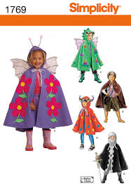 sewing pattern ninja costume simplicity 1769 from simplicity patterns is a child s cape costumes
