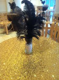great gatsby centerpieces gatsby burst of by eep events