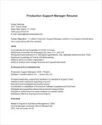 resume manager position 36 manager resumes in word