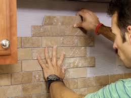 installing backsplash in kitchen how to install tile backsplash casual cottage