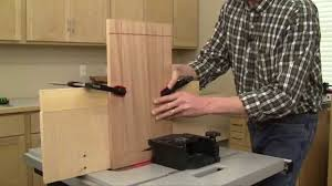 Make Raised Panel Cabinet Doors by Panel Raising With A Table Saw Youtube
