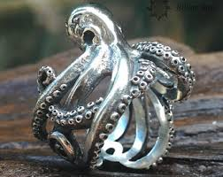 modern octopus ring holder images Bali jewelry etsy jpg