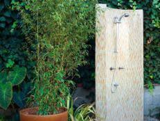 Simple Outdoor Showers - simple outdoor showers hgtv